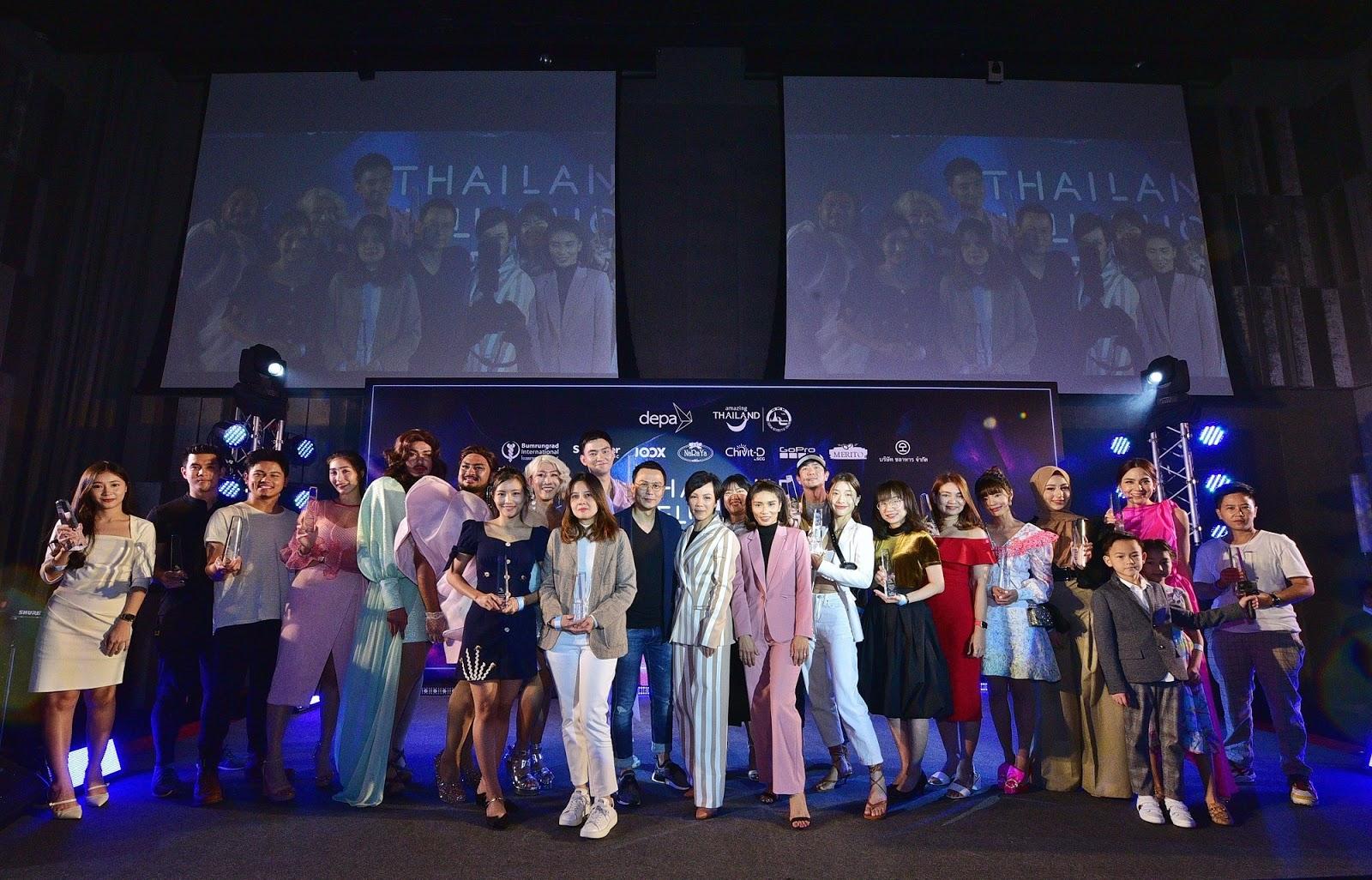 กระหึ่มโซเชียล! ทัพอินฟลูเอนเซอร์ทุกสายคอนเทนต์ร่วมงาน Thailand Influencer Awards 2020 จัดโดยเทลสกอร์