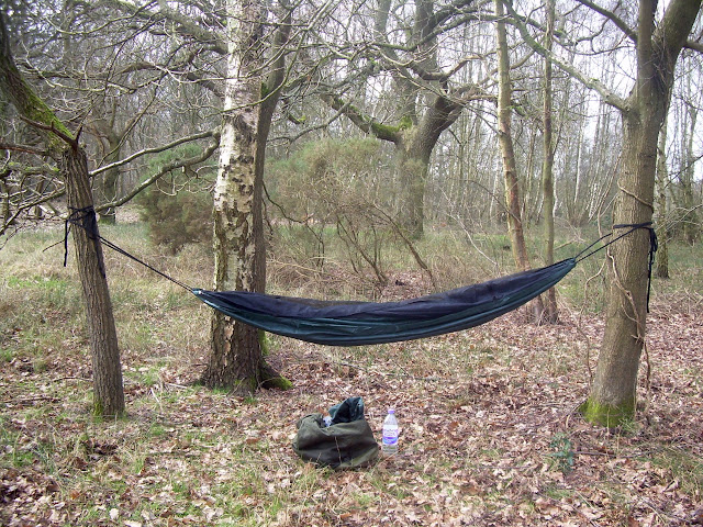Basic hammock set-up
