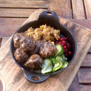 Marcus Samuelsson's Swedish Meatballs.