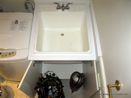 Install Deck Mount Laundry Faucet