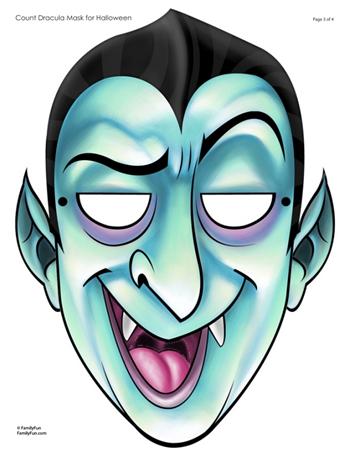 mascara hallowenn dracula