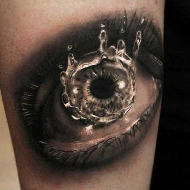 molhar_os_olhos_do_braço_de_tatuagem