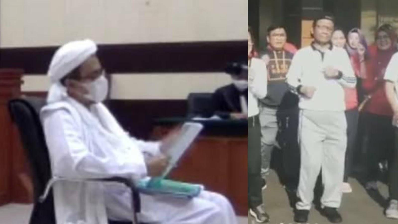 Sebut Pejabat Bohong soal Covid, Habib Rizieq Minta Mahfud-Luhut Diproses Hukum