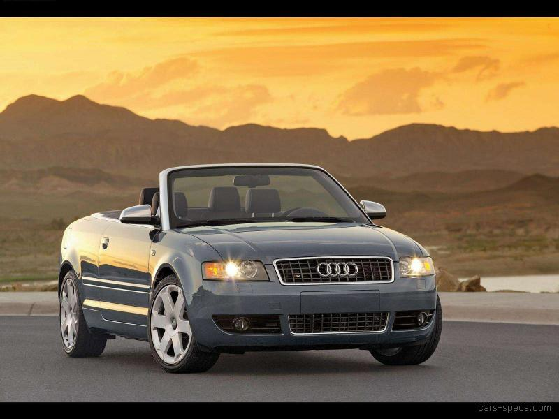 2004 audi s4 convertible specifications pictures prices. Black Bedroom Furniture Sets. Home Design Ideas