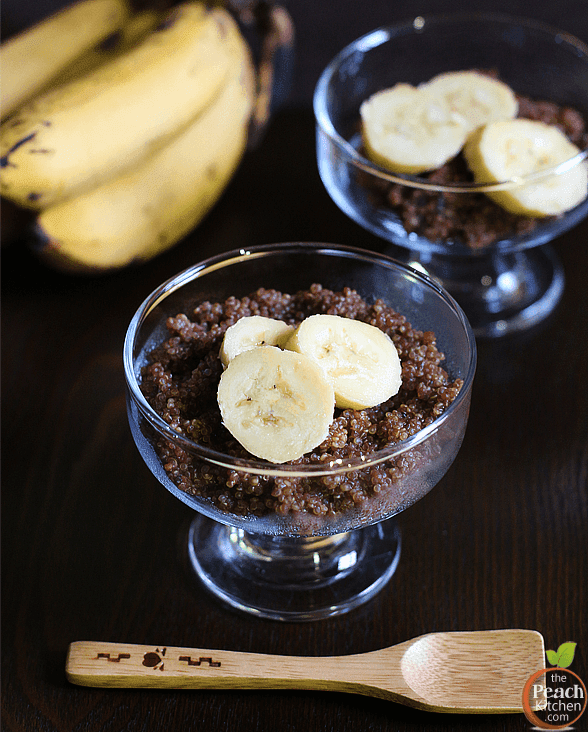 Chocolate Quinoa Pudding