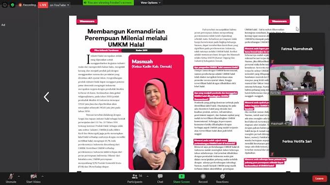 Angkat Isu Pemberdayaan Perempuan, Forshei Gelar Talkshow Bedah Majalah Falah Edisi 13