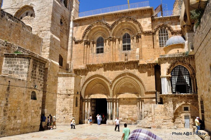 Храм Гроба Господня. Экскурсия по Иерусалиму. Гид в Израиле Светлана Фиалкова.