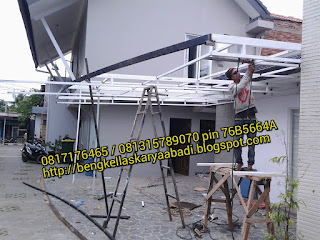 contoh canopy minimalis alderon