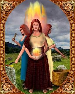 The Celtic Goddess Brighid, Gods And Goddesses 4