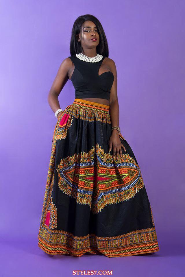 Simple And Top African Maxi Skirts 2017 2018 Styles 7