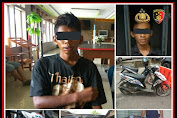 Satreskrim Polres Ketapang Ringkus 2 Remaja Pelaku Curanmor