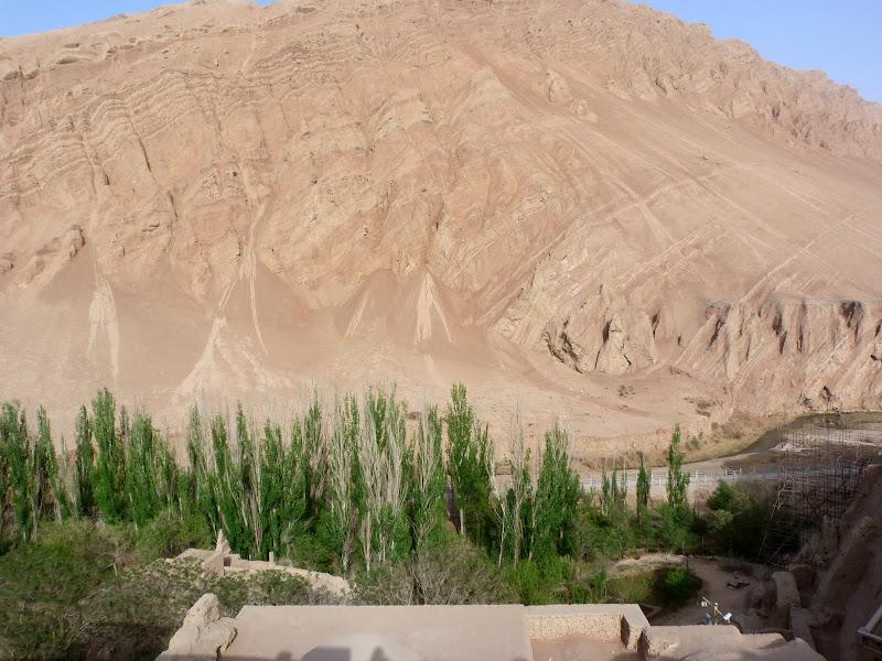 XINJIANG.  Turpan. Ancient city of Jiaohe, Flaming Mountains, Karez, Bezelik Thousand Budda caves - P1270988.JPG
