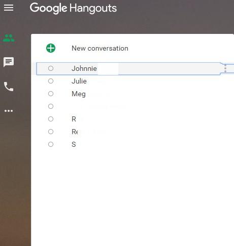 Contacts not showing in Hangouts (Desktop) - Hangouts Help