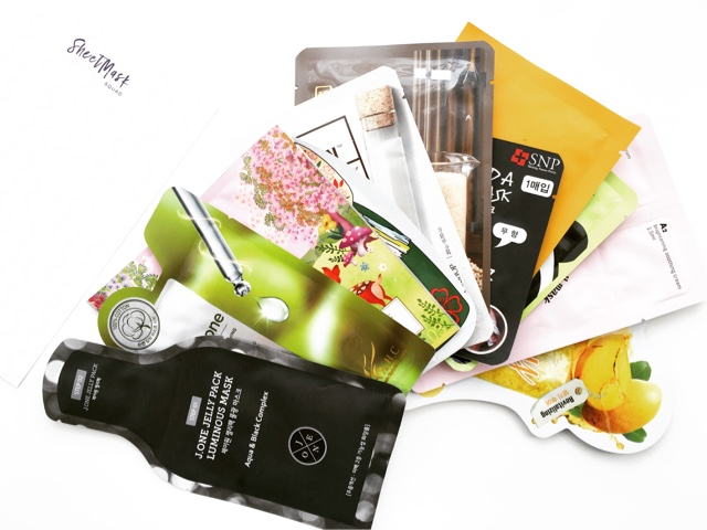 sheets masks, asian skincare, asian beauty, korean skincare, taiwanese skincare, japanese skincare