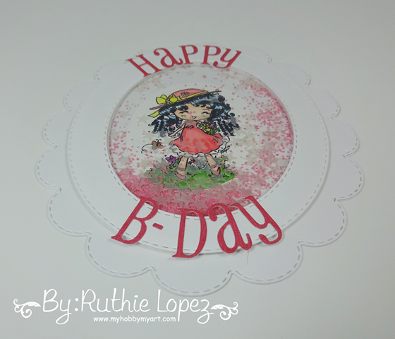 Star In My Pocket - Star Stampz - Latinas Arts and Crafts - My Hobby My Art - Ruthie Lopez