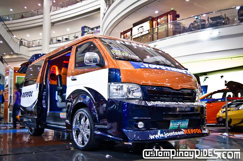 Repsol Toyota HiAce Van Custom Pinoy Rides pic1