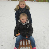 Sneeuwpret bij de kleuters
