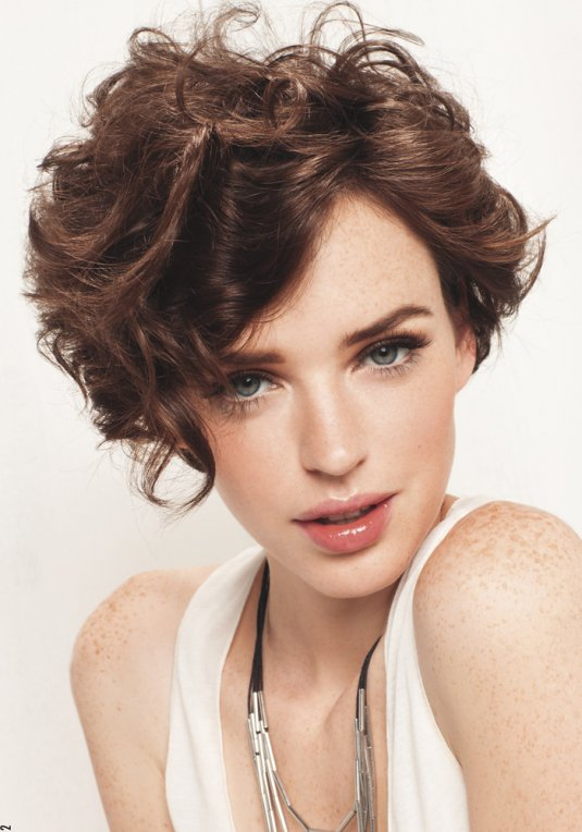 Cuts And Hairstyles For Curly Hair, Short, Long And 2018 5