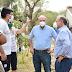 Ripio: Tassano supervisó obras en los barrios Doctor Montaña, Santa Marta y 3 de Abril