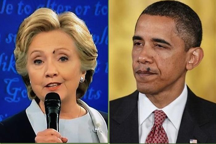 hillary obama flies