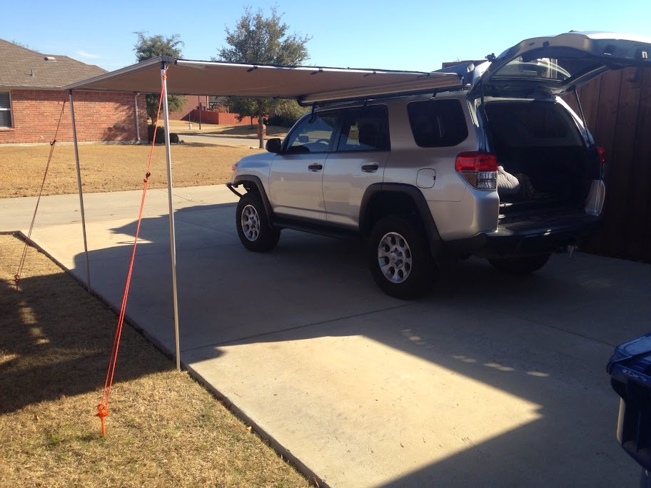 Arb 2500 Awning With Fourtrek Mount Install Page 3