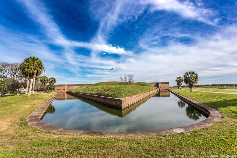 11 things to do in Savannah Georgia - Fort Pulaski