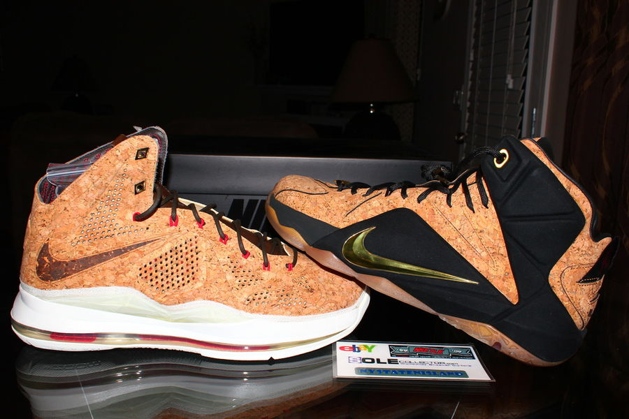 separation shoes ce037 ec890 04-09-2015 LeBron 12 EXT Cork is Coming and It s About to Take on the  Legend · Release Reminder  Nike LeBron XII (12) EXT King s Cloak