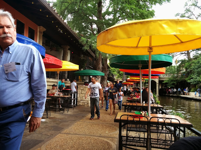 Vibrant San Antonio Riverwalk