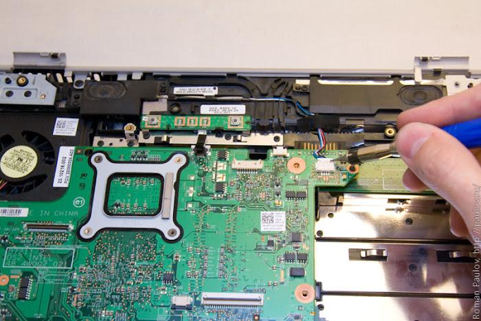 Как разобрать ноутбук Dell Inspiron 1525 34a