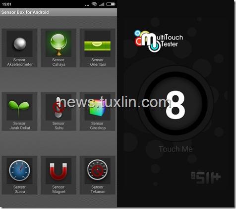 Benchmark Xiaomi Redmi 3 Sensor box