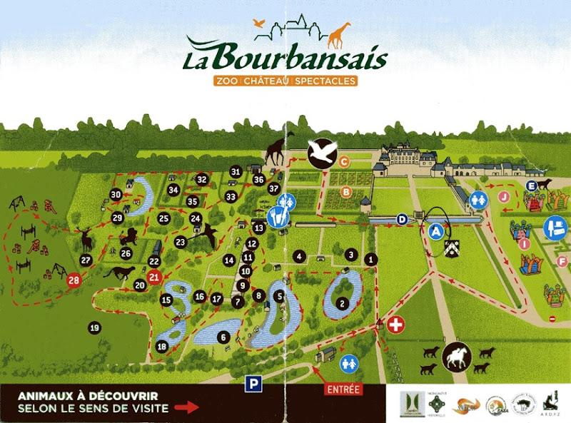 La Bourbansais plan 1 2018