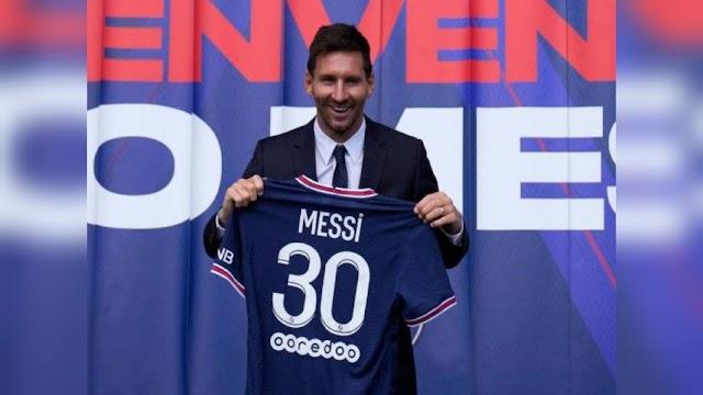 """Jersi """"Messi 30"""" terjual RM 150 juta dalam tempoh 24 Jam"""