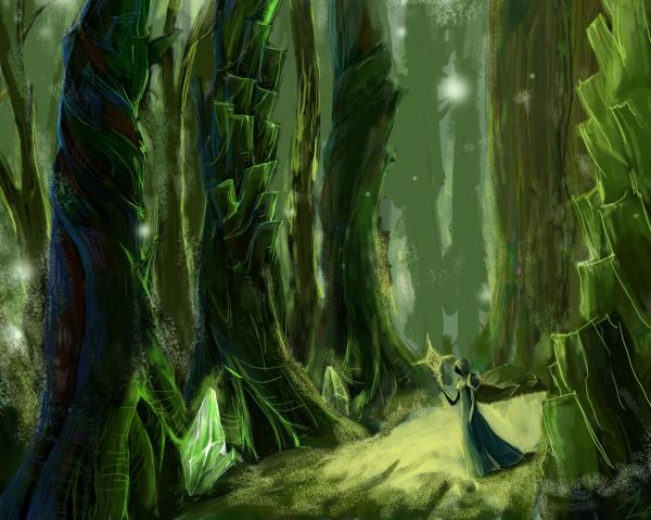 Dream Of Mysterious Territory, Magical Landscapes 6