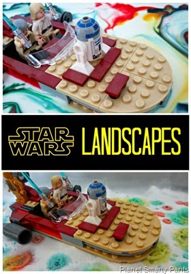 STEM activity for kids - Star Wars Landscapes