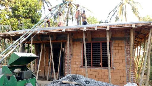 Low cost house design at vadakkancheri building designers - Scrivanie design low cost ...