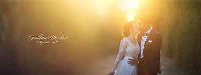 אבי וגלינה חתונה