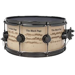 "14"" x6,5"" DW Icon Snare - The Black Page"