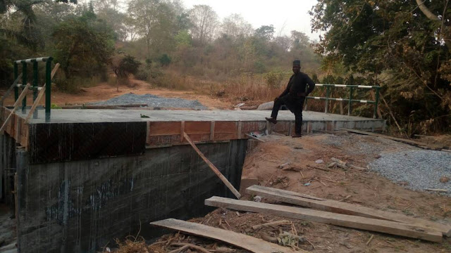 KARA-GEBA BRIDGE IN KOGI LGA REACHED COMPLETION STAGE