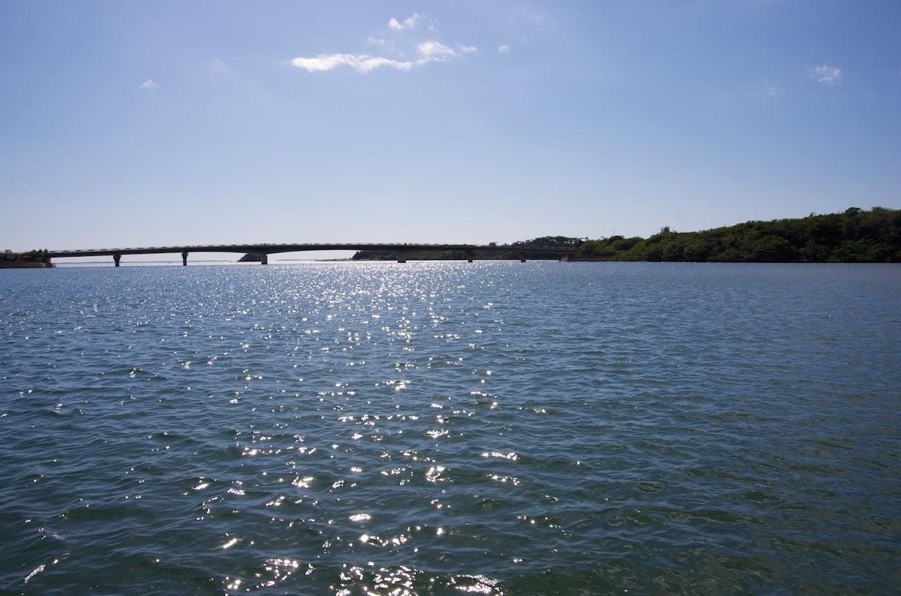 仲間川にかかる橋
