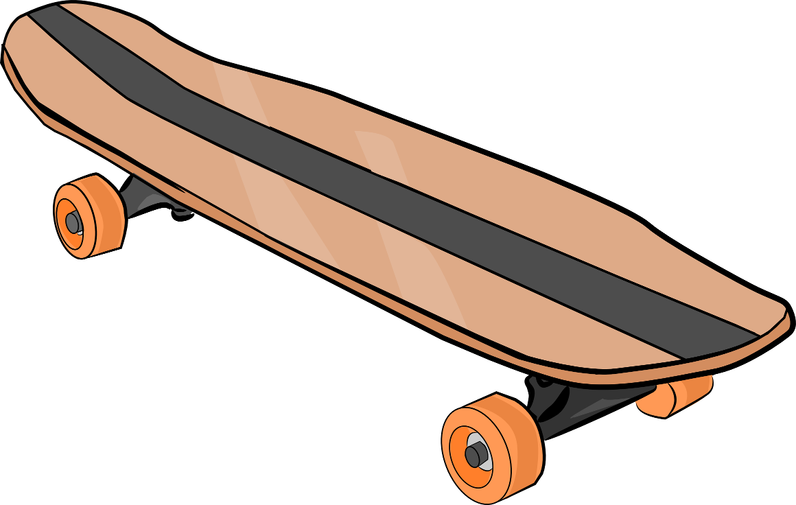 The Totally Free Clip Art Blog: Sports - Skateboard