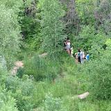 Посетители экологической тропы
