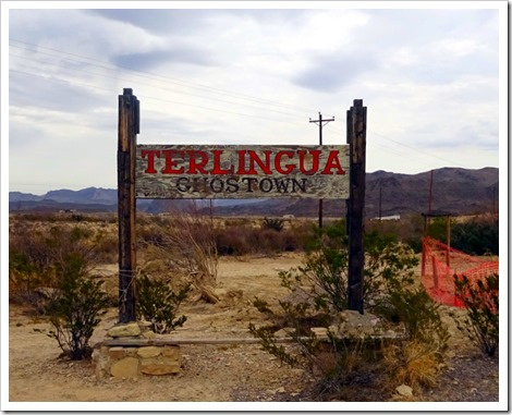 Ghost Town in Terlingua