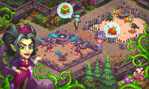 Monster Farm: Happy Ghost Village & Witch Mansion 1.21 Cheat screenshots 7