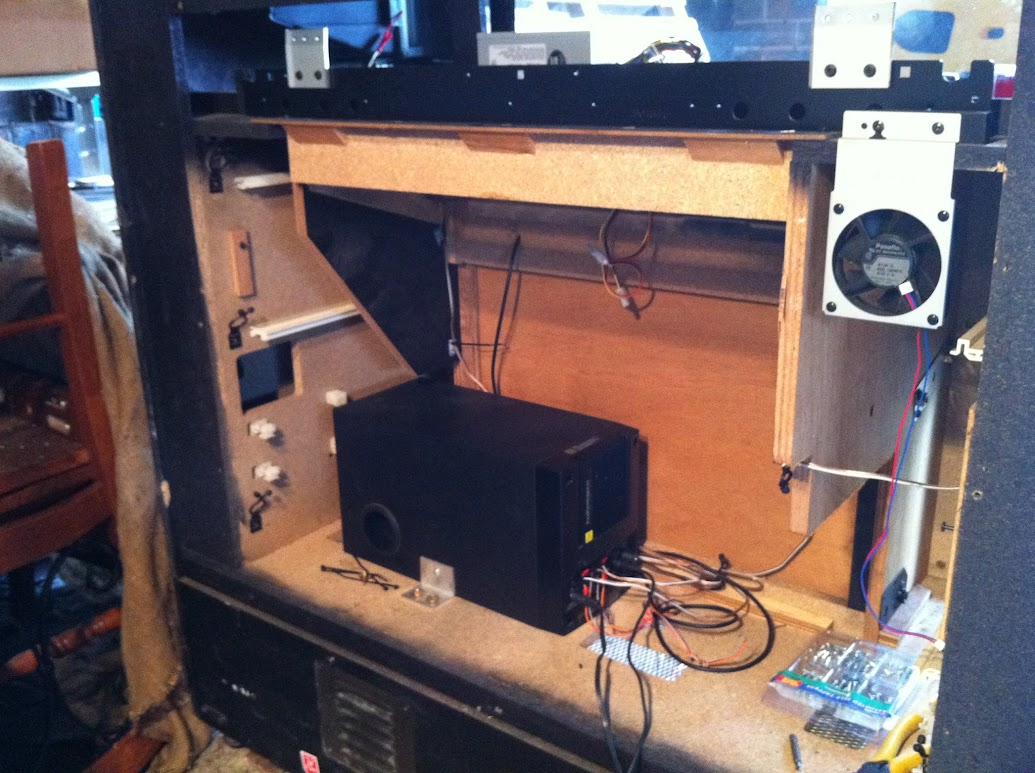 Do You Put Subwoofers In Your Arcade Cabinets