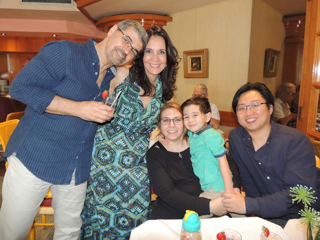 Confraternizacao 2015  Dr. Ricardo Martins, Dra. Tania Guerreiro e familia
