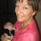 Elizabeth - Sleep over at Grandma and Grandpa Liebers