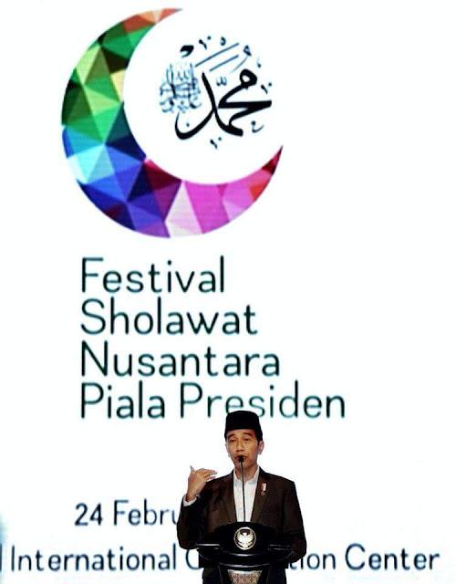 RPA Apresiasi Pernyataan Presiden Jokowi Saat Buka Festival Santri Nusantara di Sentul