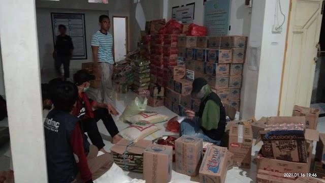 Bantuan Berdatangan, MDMC Sulbar Siap Distribusikan Kesetiap Pos Pengunsian