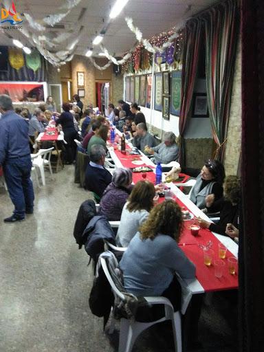 Cena para dar la bienvenida a la Navidad