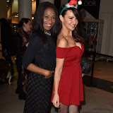 OIC - ENTSIMAGES.COM - Karen Bryson and Lizzie Cundy at Ella Jade's Chair Your Wish Launch Whiteley's Shopping Centre, London 15th December 2015 Photo Mobis Photos/OIC 0203 174 1069
